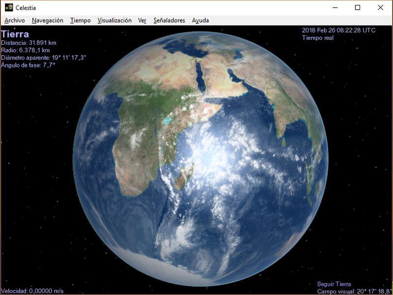 Software planetario gratuito para Windows, Linux y Mac OS X