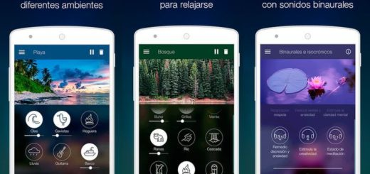 Atmosphere: app Android con sonidos relajantes para escuchar