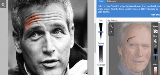 Colorear fotos en blanco y negro con esta aplicación web gratuita