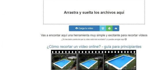 Cortar vídeos online fácilmente y gratis con Video Crop