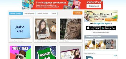 Crear fotomontajes online y hermosas imágenes con ImageChef