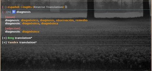 Diccionario y traductor gratuito para más de 100 idiomas