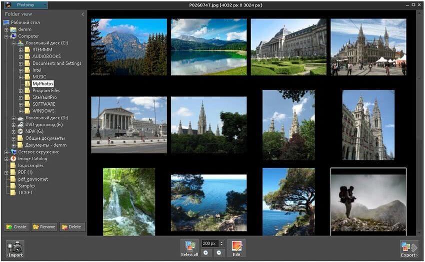 PhotoHandler: software gratuito para organizar y editar tus fotografías