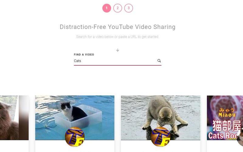 Reproducir vídeos de YouTube sin distracciones con esta aplicación web