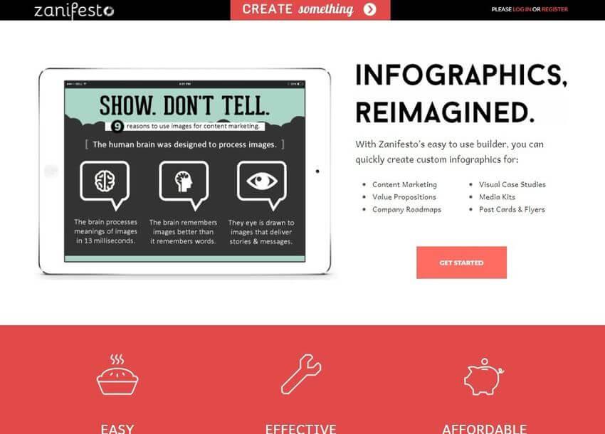 Zanifesto: nueva plataforma web gratuita para crear bonitas infografías