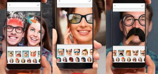 App para cambio de caras en Android