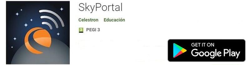 Instalar Planetarios para Android - SkyPortal