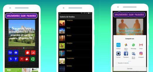 Crear imágenes con texto en Android
