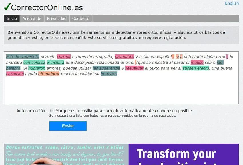 Revisar la ortografía online con estas 5 aplicaciones web gratuitas