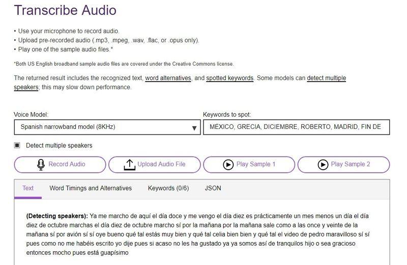 Transcribir audio a texto online con una práctica herramienta gratuita
