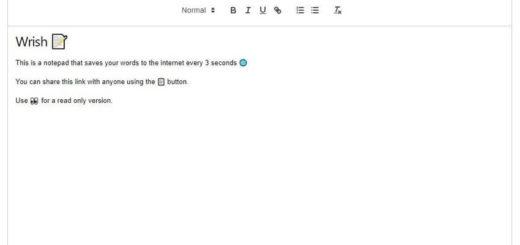 Bloc de notas online