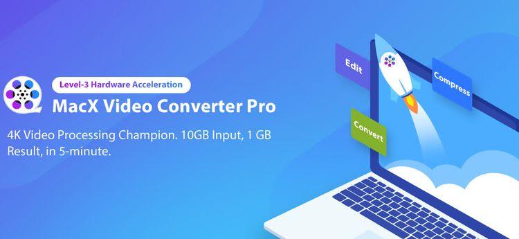MacX Video Converter Pro: convertir, comprimir, editar y descargar vídeos 4K a la máxima velocidad
