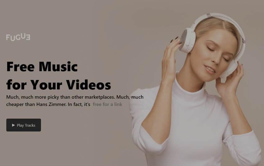 Miles de piezas musicales gratis para tus vídeos en Fugue