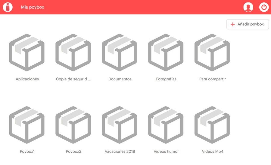 Poybox crea Poybox ilimitados Poybox: una alternativa a WeTransfer y Dropbox, más rápida y más sencilla