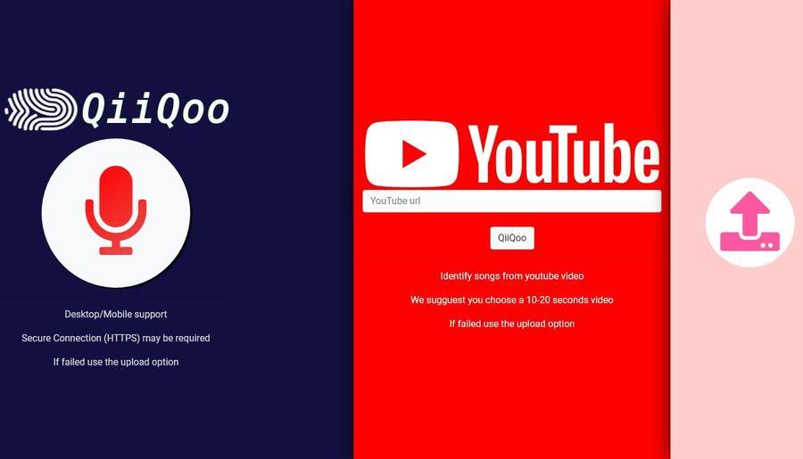 QiiQoo QiiQoo: aplicación web para identificar la canción que suena o de un vídeo