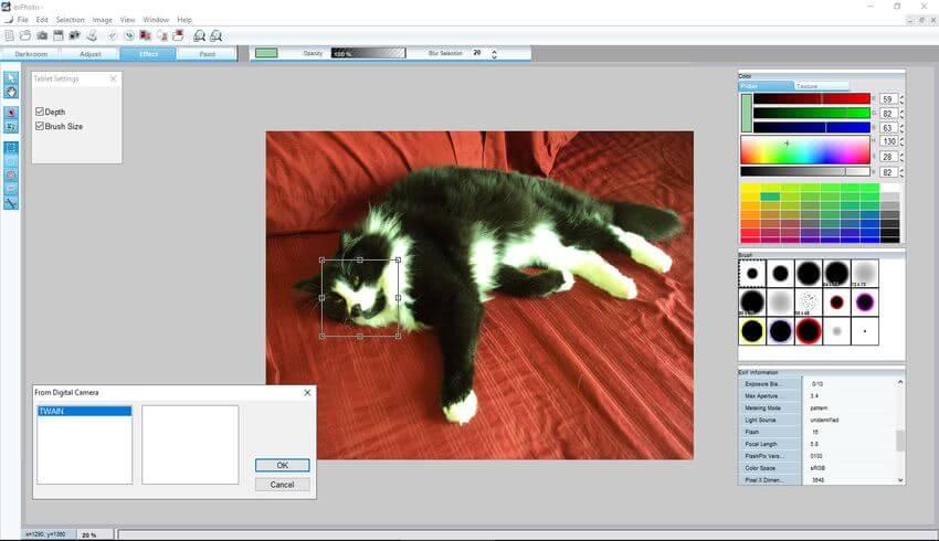 exPhoto exPhoto: software para edición de imágenes, retoque y diseño gráfico