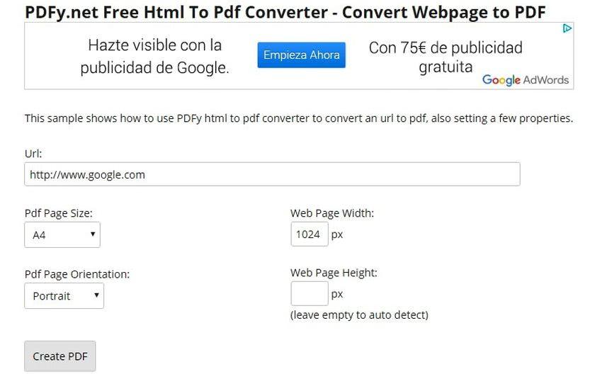 convertir imagen a pdf gratis