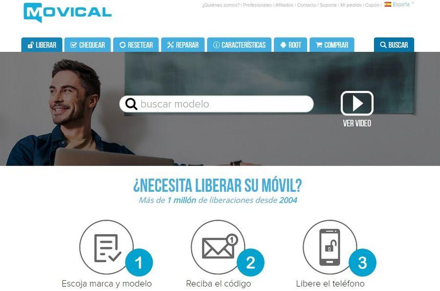 Liberar un teléfono por IMEI es realmente fácil con Movical