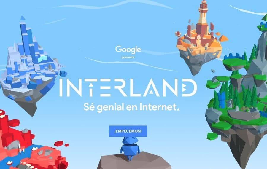 Sé genial en Internet Interland Sé genial en Internet: iniciativa de Google para enseñar a los niños un uso adecuado de Internet