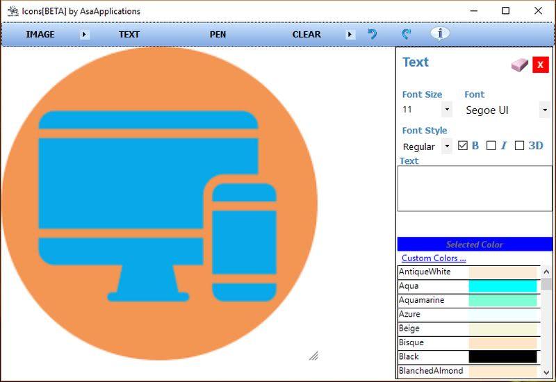 Convertir imágenes en iconos con Icons Convertir imágenes en iconos personalizados con este software gratuito