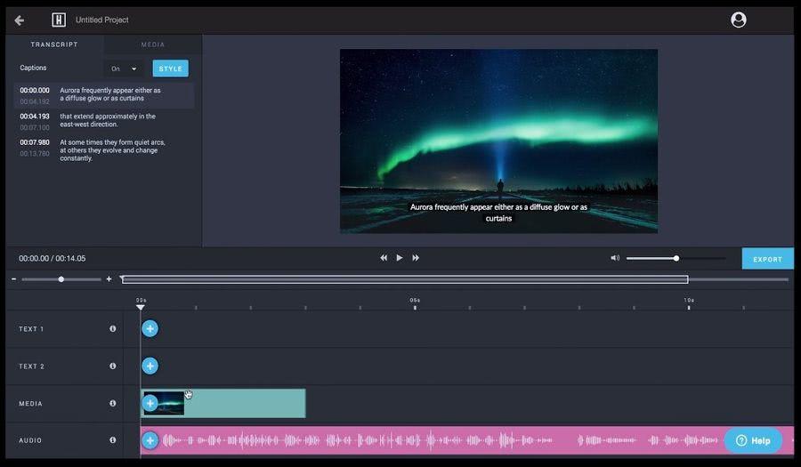 Headliner: aplicación web gratuita para crear vídeos para redes sociales