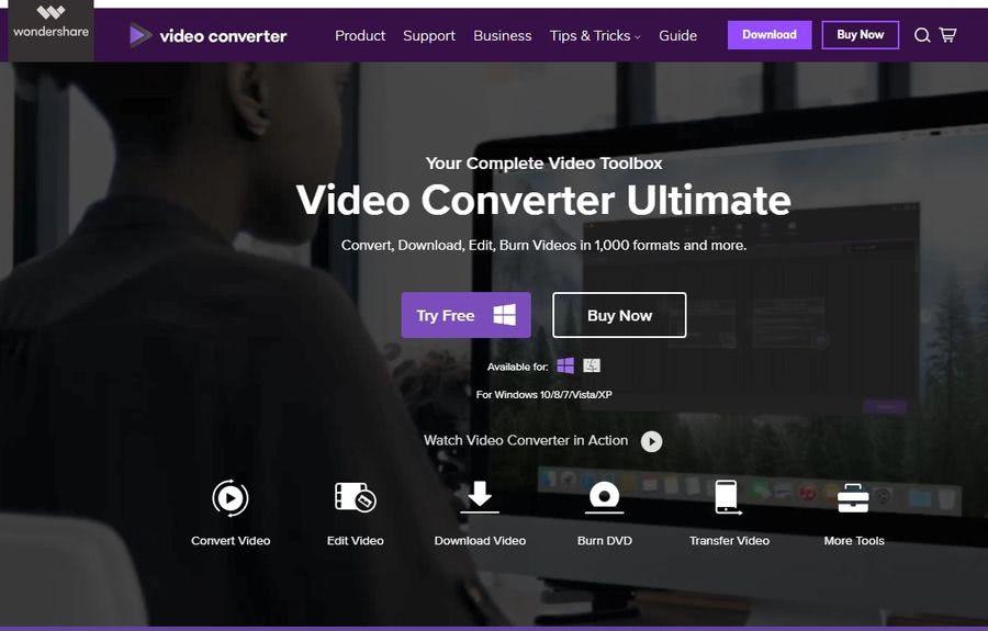Wondershare Video Converter Ultimate: programa más completo para trabajar con vídeos