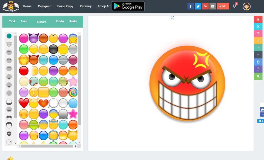 Angel Emoji Maker Angel Emoji Maker: mejor web para crear emojis personalizados