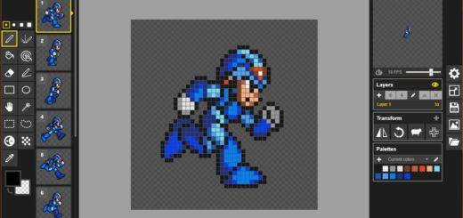Crear Pixel Art online con Piskel