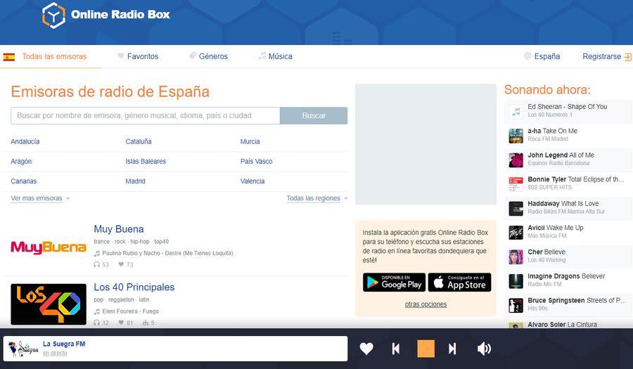 Escuchar radio online en Online Radio Box Escuchar radio online con las miles de emisoras disponibles en Online Radio Box