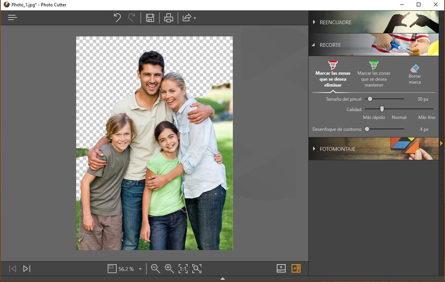 Fotophire Toolkit photo cutter Fotophire Toolkit: espectacular editor para hacer magia con tus fotos