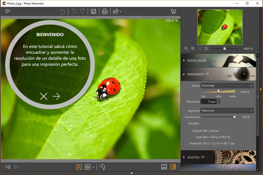 Fotophire Toolkit photo maximizer Fotophire Toolkit: espectacular editor para hacer magia con tus fotos