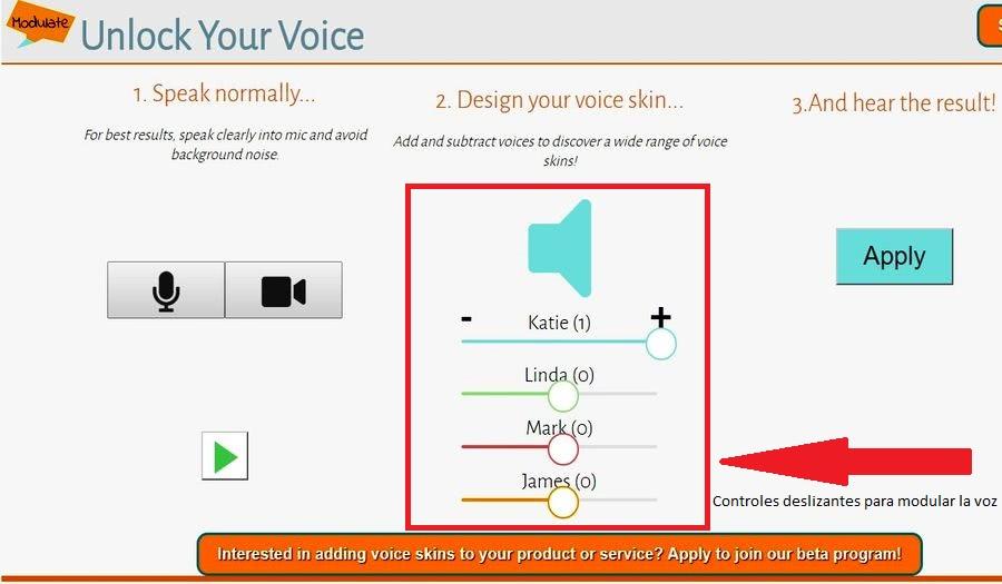 Modulador de voz online modular voz Modulador de voz online para cambiar como suena tu voz: Modulate