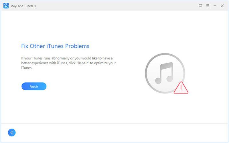 iMyFone TunesFix errores desconocidos iMyFone TunesFix: software para detectar y solucionar problemas de iTunes
