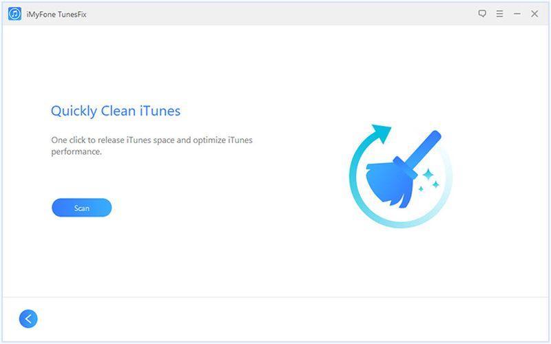 iMyFone TunesFix limpiar iTunes iMyFone TunesFix: software para detectar y solucionar problemas de iTunes