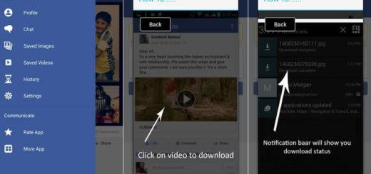 App Android para descargar vídeos de Facebook