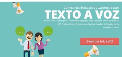 Convertir texto a Mp3 online