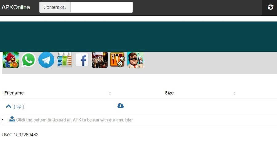 Emulador de Android ApkOnline cargar APK ApkOnline: emulador online de Android en el que puedes cargar tus APK