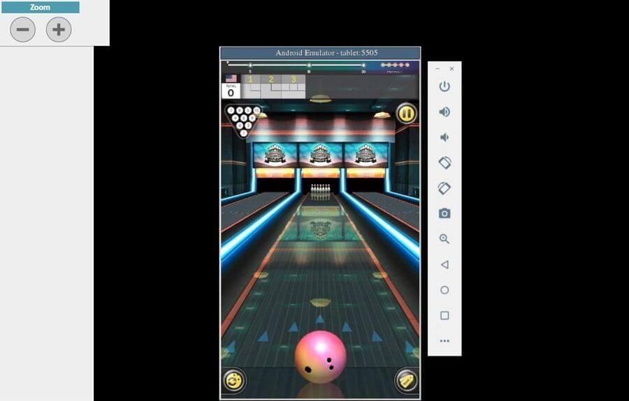 Emulador de Android ApkOnline en acción ApkOnline: emulador online de Android en el que puedes cargar tus APK