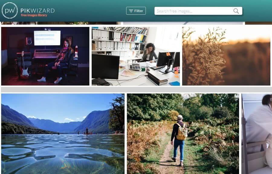 Pikwizard: miles y miles de imágenes gratuitas para tus proyectos