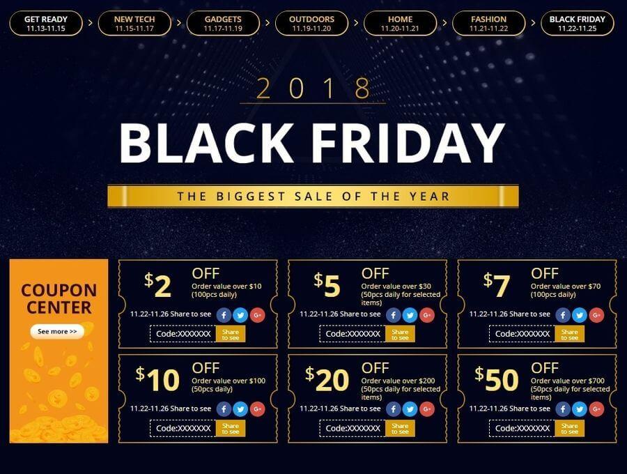 Chollazos en teléfonos, tecnología y electrónica en Black Friday 2018