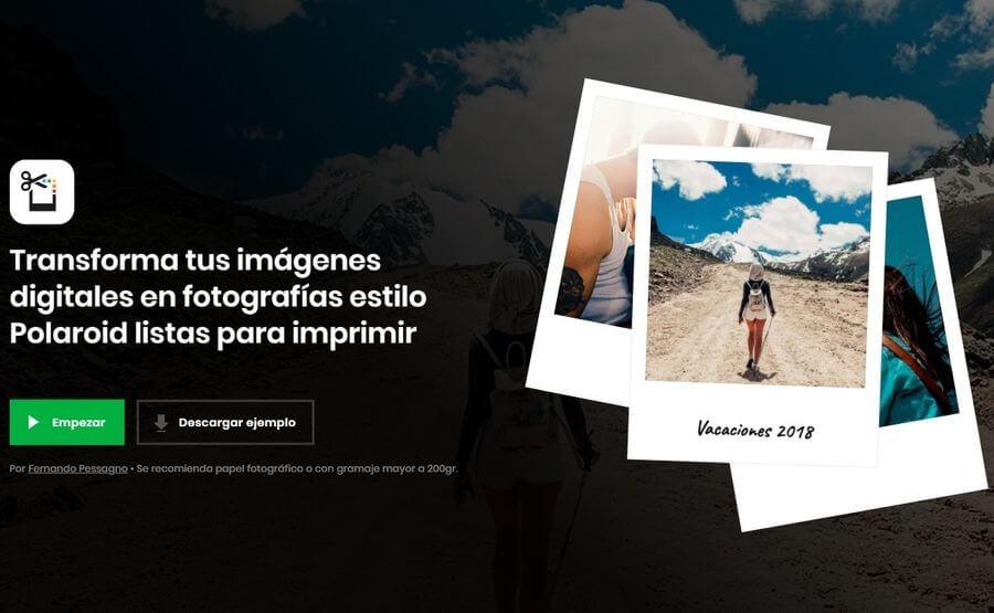 Efecto Polaroid online y gratis para cualquiera de tus fotos con Polaroider