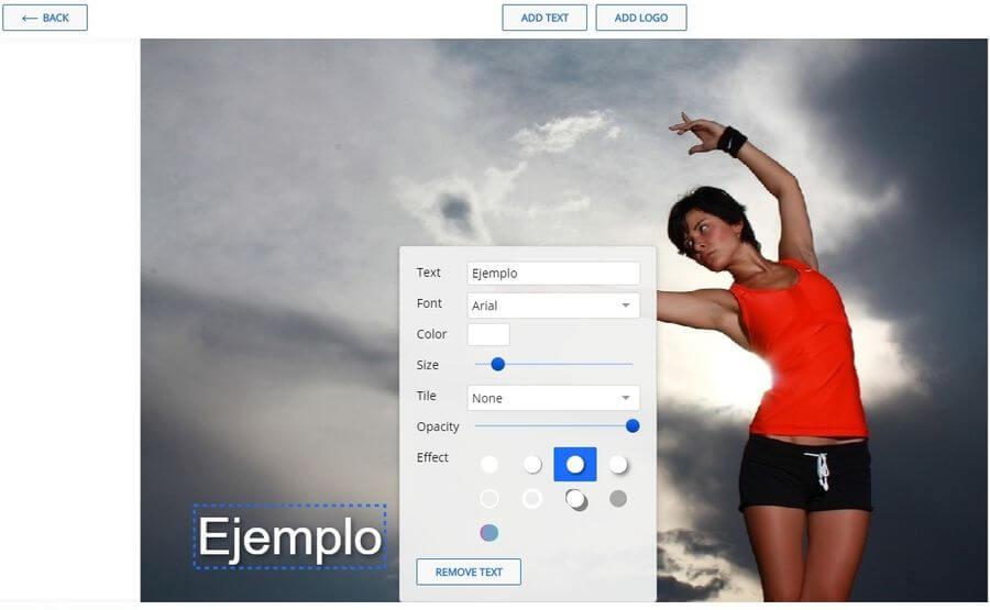 Watermarkly: aplicación web para aplicar marcas de agua a tus fotos