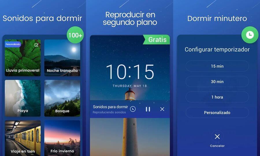 App Android para dormir, te ayuda a relajarte y descansar