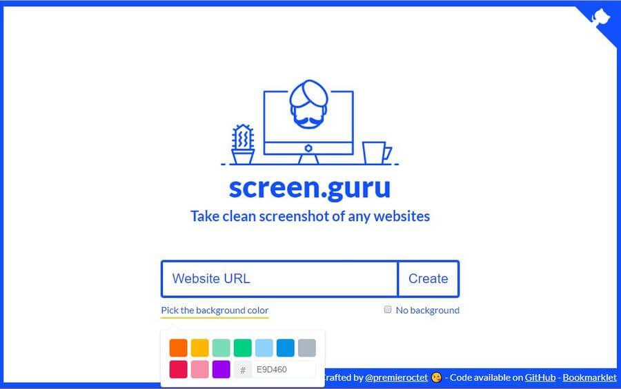 Tomar atractivas capturas de pantalla de páginas y blogs