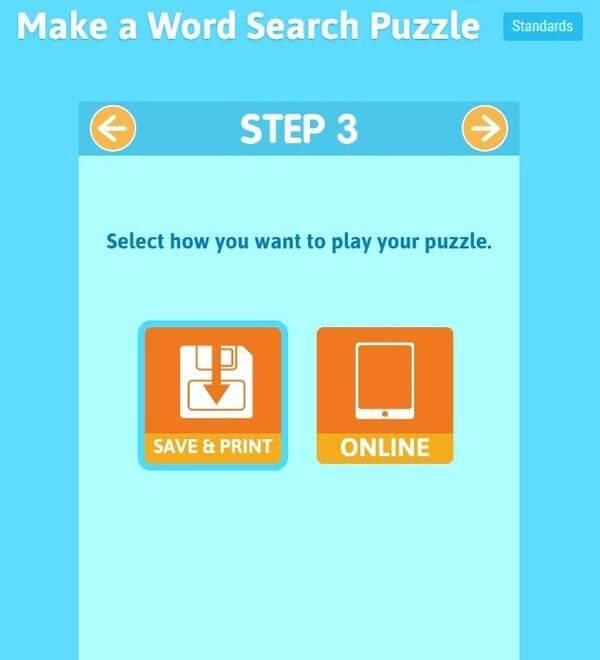 Crear sopas de letras gratis y online con esta aplicación web