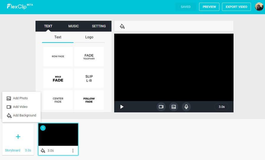 FlexClip Video Maker: utilidad web gratuita para crear vídeos increíbles