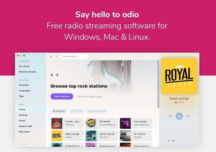 Miles de radios online para escuchar con este software gratuito