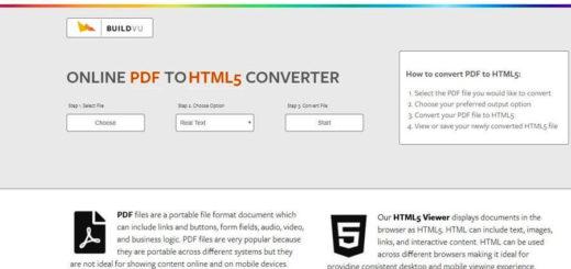 Convertir PDF a HTML5 online