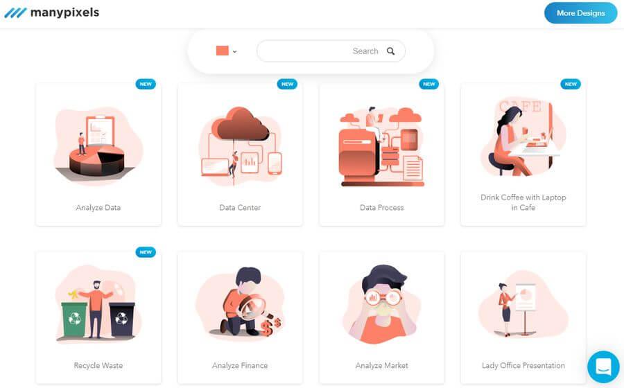 Hermosas ilustraciones gratuitas para descargar y usar en tus proyectos