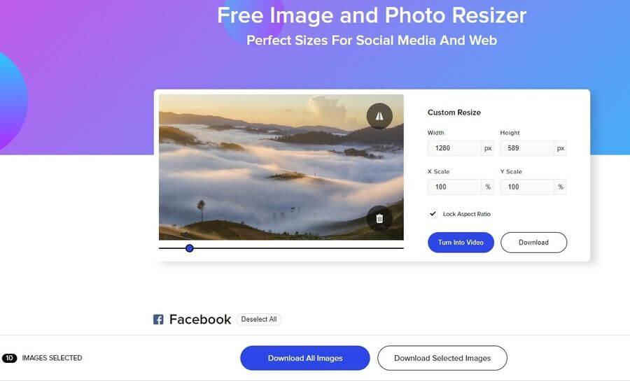 Imágenes perfectas para Redes Sociales con PROMO Image Resizer